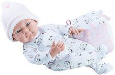 """Кукла бебе момиченце с плюшено кубче - От серията """"Paola Reina: Pikolines"""" -"""