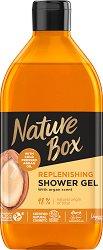 Nature Box Argan Oil Replenishing Shower Gel - Натурален душ гел с масло от арган - продукт