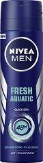 Nivea Men Fresh Aquatic Anti-Transpirant - Дезодорант против изпотяване за мъже -