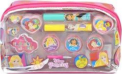 Детски комплект с гримове в несесер - Disney Princess - парфюм
