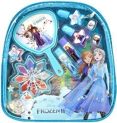 Детски комплект с гримове в раница - Disney Frozen - продукт