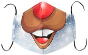 Универсална трислойна маска за многократна употреба - Еленска муцуна