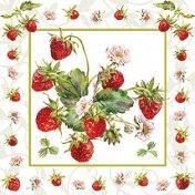 Салфетки за декупаж - Свежи ягоди - Пакет от 20 броя