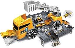 Камион и строителна площадка - 2 в 1 - играчка