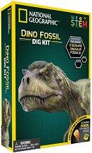 Изкопай сам - Фосил от динозавър - Детски образователен комплект - образователен комплект
