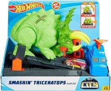 Писта - Трицератопс - играчка