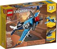 LEGO: Creator - Витлов самолет 3 в 1 - раница