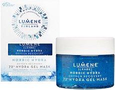 Lumene Lahde Nordic Hydra Oxygen Recovery 72h Hydra Gel Mask - лосион