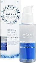 Lumene Lahde Nordic Hydra Moisturizing Prebiotic Oil-Cocktail - лосион