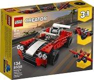 LEGO: Creator - Спортен автомобил 3 в 1 - детски аксесоар