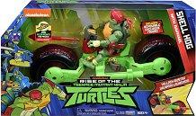 """Рафаел с мотор - Комплект за игра от серията """"Възходът на костенурките нинджа"""" - играчка"""