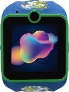 Детски GPS и GSM смарт часовник с тъч скрийн - MyKi Junior Blue - Работещ със SIM карти на всички български мобилни оператори