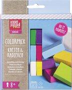 Полимерни глини - Knorr Prandell - Комплект от 6 цвята