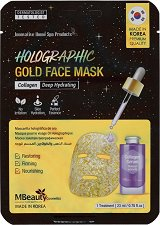 MBeauty Holographic Gold Face Mask - крем