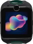 Детски GPS и GSM смарт часовник с тъч скрийн - MyKi Junior Exclusive Gray - Работещ със SIM карти на всички български мобилни оператори
