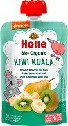 Holle - Био забавна плодова закуска с круши, банани и киви - продукт