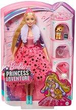 """Барби - Модна принцеса - Комплект кукла с аксесоари от серията """"Barbie"""" -"""