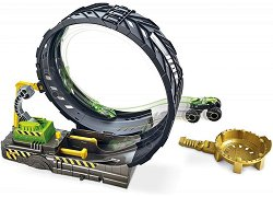 Писта с изстрелвачка - Monster Trucks - количка