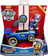 """Чейс със спортен автомобил - Комплект за игра със звукови ефекти : от серията """"Пес патрул"""" - продукт"""