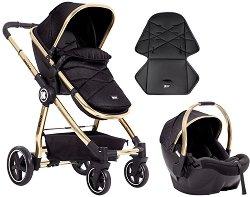 Бебешка количка 2 в 1 - Allure 2020 - С 4 колела -