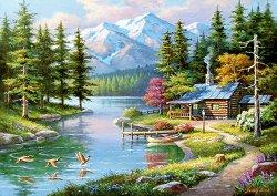 Къща край езерото - Сонг Ким (Sung Kim) - пъзел