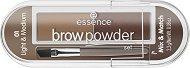 Essence Brow Powder Set Mix & Match - маска