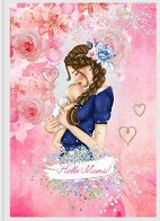 Планер - Hello Mama Pink : Дневник на мама и бебето - Формат A5 -