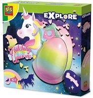 Яйце с изненада - Еднорог - образователен комплект