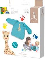 Творческа престилка с ръкави - Жирафчето Софи - продукт