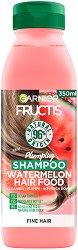 Garnier Fructis Plumping Watermelon Hair Food Shampoo - боя