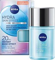 Nivea Hydra Skin Effect Pure Hyaluron Insta Mask - Хидратиращ серум за лице с хиалуронова киселина - гел