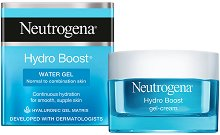 Neutrogena Hydro Boost Water Gel - Гел за лице за нормална до комбинирана кожа с хиалуронова киселина - крем