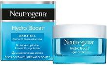 Neutrogena Hydro Boost Water Gel - Гел за лице за нормална до комбинирана кожа с хиалуронова киселина - продукт