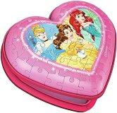 Кутия за бижута - Принцесите на Дисни - 3D пъзел - пъзел