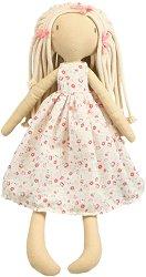 """Келси - Парцалена кукла с височина 50 cm от серията """"Bonikka"""" - играчка"""