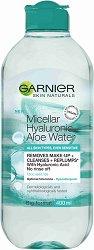 Garnier Hyaluronic Aloe Micellar Water - Мицеларна вода с хиалурон и алое вера - маска