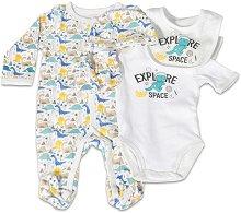 Комплект за изписване от 5 части - The One - 100% памук за бебета от 0+ до 2 месеца -