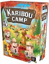 Karibou Camp - Семейна настолна игра с карти -