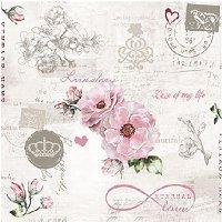 Салфетки за декупаж - Вечна любов
