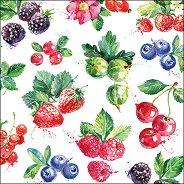 Салфетки за декупаж - Горски плодове
