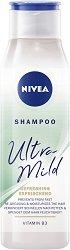 Nivea Ultra Mild Refreshing Shampoo - шампоан