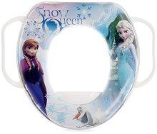 Детска седалка за тоалетна с дръжки - Frozen - продукт