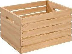 Дървена щайга - Adeptus - Предмет за декориране с размери 45 / 31 / 25 cm