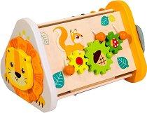 Джунга - Детски дървена дидактическа играчка -