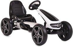Детски картинг с педали - Mercedes-Benz Go Kart -