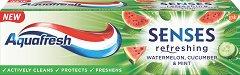 Aquafresh Senses Refreshing Toothpaste - сапун