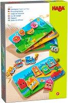 Жаби на пътешествие - Детски комплект за нанизване -