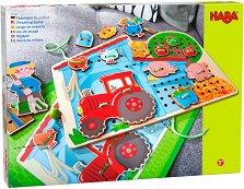 Ферма - Детски комплект за нанизване -