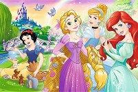 """Мечта да бъдеш принцеса - От колекцията """"Принцесите на Дисни"""" - пъзел"""