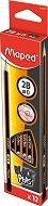 Графитни моливи 2B - Комплект от 12 броя